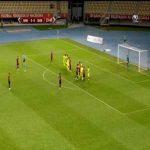 Shkendija 1-0 Sheriff Tiraspol - Besart Ibraimi free-kick 24'