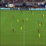 Stephan El Shaarawy Goal - Barcelona 1 vs 1 Roma