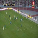 Dinamo Minsk 2-0 Zenit - Vladimir Khvashchinskiy 31'