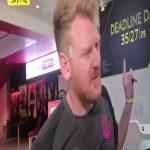 Ped from Toffee TV firing shots at Sam Allardyce on Sky Sports news