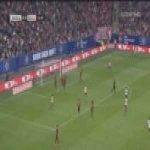 Hamburg 1-0 Bayern - Khaled Narey 25'