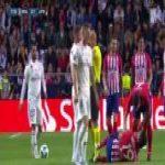 Sergio Ramos elbow on Diego Costa.