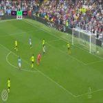 Manchester City [1]-0 Huddersfield : Aguero 25'