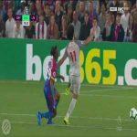 Wan-Bissaka red card vs Liverpool