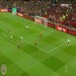 Manchester United 0-[2] Tottenham : Lucas Moura 52'