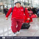 Robert Lewandowski SPOTTED at Madrid Barajas Airport ahead of secret talks with Florentinto Perez