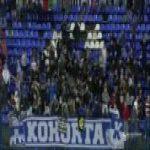 Incredible strike from Momčilo Raspopović (NK Rijeka) against Dinamo Zagreb in this weekends top of the table clash in Croatia