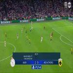 Ajax 3-0 AEK - Nicolas Tagliafico 90'
