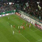 Rapid Wien 1-0 Spartak Moscow - Artem Timofeev OG 50'