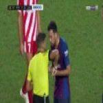 FC Barcelona 1 -0 Girona FC - Lenglet Red Card