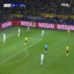 Dortmund 1-0 Monaco - Jacob-Bruun Larsen 51'
