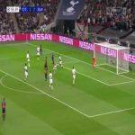 L. Messi goal (Tottenham 1-[3] Barcelona) 55'
