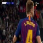 This Dutch commentary to Rakitić's goal(Tottenham 0-[2] Barcelona 28') sums it all up