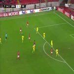 L. Melgarejo goal (Spartak M [3]-2 Villarreal) 84'