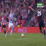 Athletic Bilbao 1-[3] Real Sociedad - Mikel Oyarzabal penalty 74'