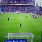 Pochettino asking why the stadium is so empty against Cardiff.