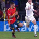 Ceballos dive vs. England
