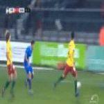 KV Oostende 0-[3] KAA Gent — Giorgi Chakvetadze 59'