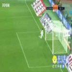 Cui Ming'an (Dalian Yifang) great goal vs Hebei CFFC