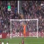 Fulham 0-[1] AFC Bournemouth — Callum Wilson (pen.) 14'