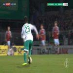 SC Weiche-08 0-1 Bremen - Claudio Pizarro 8'