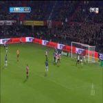 Feyenoord [2]-1 ADO Den Haag - Botteghin 44'