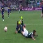 Palmeiras [2]-1 Boca Juniors [2-3 on agg.] - Gustavo Gomez penalty 60'