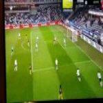 Rosenborg 0-[1] Start — Niklas Sandberg 33'