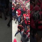 Riots during the match Flamengo Fans attack other fans same team in Sector