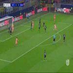 Dembele fakes two defenders