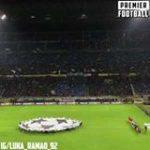 "San Siro looks magical on a Champions League night 😍  ""THE CHAMPIONSSSS"" 📣"