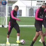 Mbappe casually ending careers in training... 😛