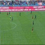 Roma [2]:0 Sampdoria - Patrik Schick 59'