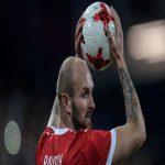 Konstantin Rausch left Team Russia camp due to spine injury
