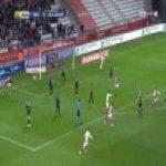 Reims 1-0 Guingamp - Xavier Chavalerin 2'
