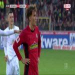 Freiburg [1]:0 Werder Bremen - Luca Waldschmidt 42' (penalty)