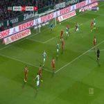 Bremen [1]-1 Bayern - Yuya Osako 33'