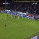 Cagliari [1]-2 Roma - Artur Ionita 84'