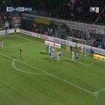 Zwolle [1]-2 Ajax - Zian Flemming 44'