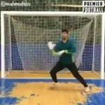 This guy is the best goalkeeper in the world 🔥  That last save though... 🤣