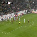 MOL Vidi [1]-1 Chelsea - Ethan Ampadu OG 32'