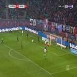 RB Leipzig 2-0 Mainz - Yussuf Poulsen 19'