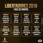 2019 Copa Libertadores group stage draw