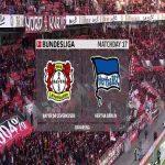 Bayer Leverkusen 3 vs 1 Hertha - Full Highlights & Goals