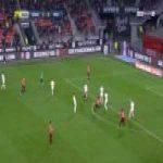 Rennes 2-0 Nimes - Benjamin Bourigeaud 14'