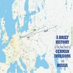 A Brief History Of The Final Fronts Of German Invasions Into Russia.