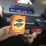 Bag of mini cheddars