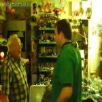 Sir Alex Ferguson giving David Beckham the Hairdryer treatment