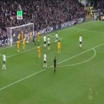 Fulham [1]:0 Wolverhampton Wanderers - Ryan Sessegnon 74'