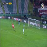 Vitoria Setubal 0-1 Braga - Paulinho 53'